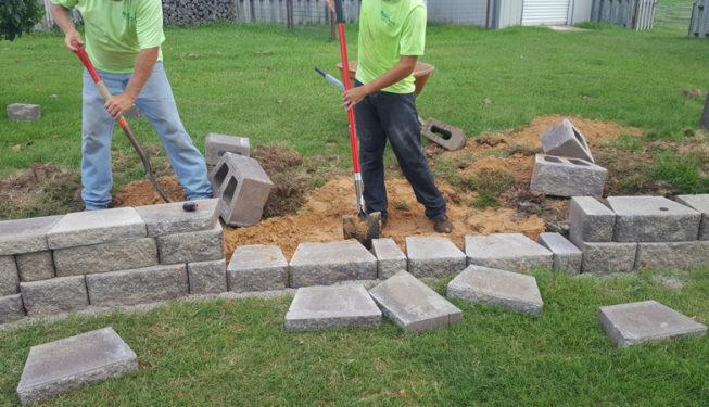 Measuring and Laying Brick